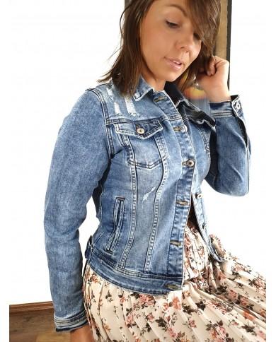 Kurtka jeansówka klasyczna...