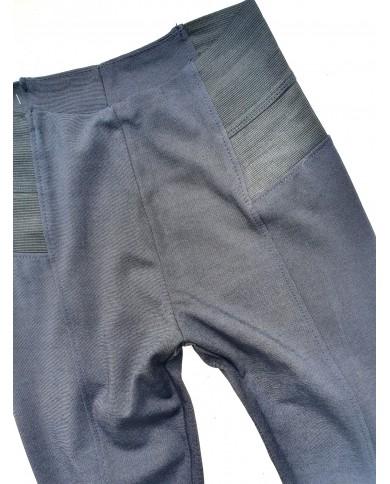 Spodnie legginsy z wysokim...