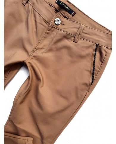 Spodnie cygaretki KARMEL