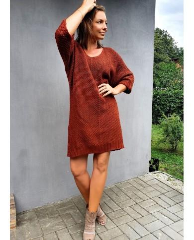 Sweter sukienka oversize...