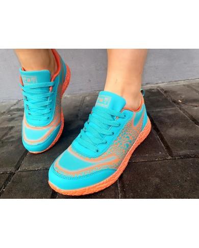 Neonowe buty sportowe...